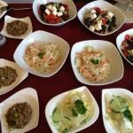 Bunte Salatvielfalt